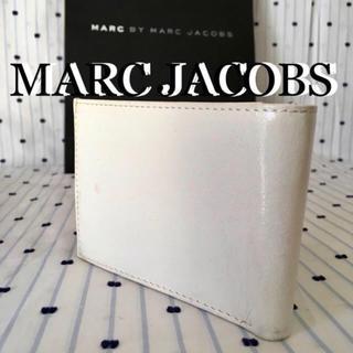 マークバイマークジェイコブス(MARC BY MARC JACOBS)のMARCbyMARCJACOBSマークジェイコブス限定クラックレザーウォレット(折り財布)
