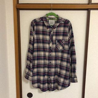 シマムラ(しまむら)のネルシャツ しまむら 大きいサイズ 3L(シャツ/ブラウス(長袖/七分))