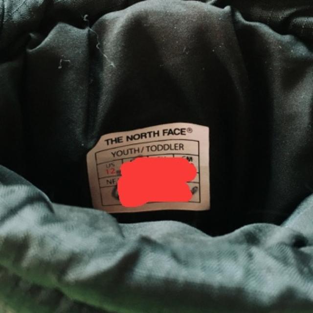 THE NORTH FACE(ザノースフェイス)のノースフェイス スノーブーツ キッズ 18センチ キッズ/ベビー/マタニティのキッズ靴/シューズ(15cm~)(ブーツ)の商品写真