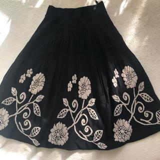 アーモワールカプリス(armoire caprice)のニットスカート(ひざ丈スカート)
