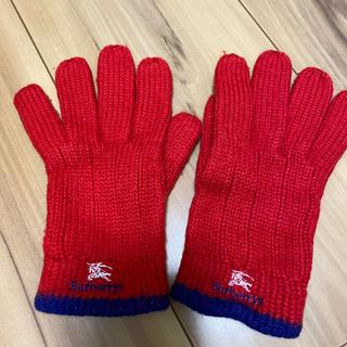 バーバリー(BURBERRY)のバーバリー手袋(その他)
