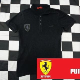 Ferrari - 【プーマxフェラーリ】メンズ半袖ポロシャツコットン海外M自動車