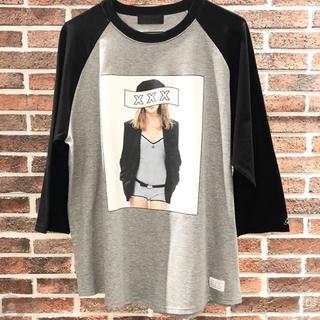 フラグメント(FRAGMENT)の半額以下 god selection xxx ラグランTシャツ (Tシャツ/カットソー(七分/長袖))