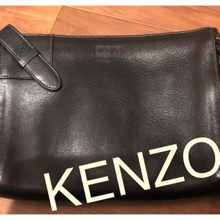 ケンゾー(KENZO)のKENZO ケンゾー クラッチバッグ ハンドバッグ セカンドバッグ(セカンドバッグ/クラッチバッグ)