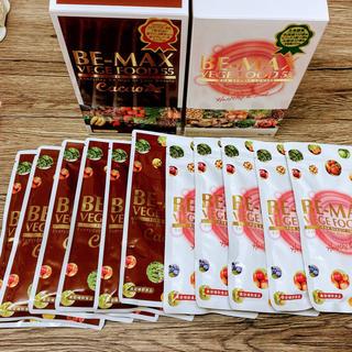 【美容補助食品】 B-max VEGE FOOD55(5袋)×Cacao(5袋)(ダイエット食品)