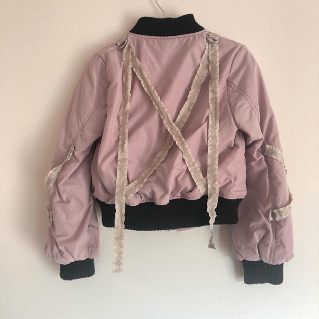 EATME(イートミー)のEATME クロスMA-1 レディースのジャケット/アウター(ブルゾン)の商品写真