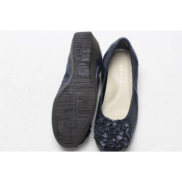 REGAL(リーガル)の79■REGAL 本革ラメモチーフパンプス(22.5)超美品 レディースの靴/シューズ(ハイヒール/パンプス)の商品写真