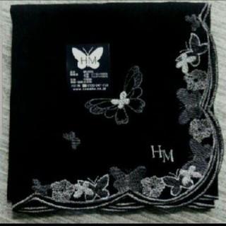 ハナエモリ(HANAE MORI)のM④-2冠婚葬祭に!【新品未使用】森英恵大判ハンカチ(ハンカチ)