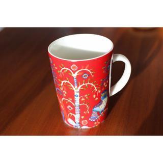 イッタラ(iittala)のittala タイカ マグカップ レッド(グラス/カップ)