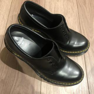 ドクターマーチン(Dr.Martens)のDr.Martens ヒール3ホール セイレーン サロメ ブラック(ローファー/革靴)