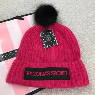 ヴィクトリアズシークレット(Victoria's Secret)の新品♡ VICTORIA'S SECRET ニット帽(ニット帽/ビーニー)