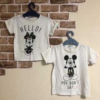 Disney - ディズニー♡兄妹ペアTシャツ