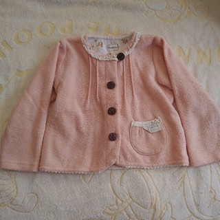 Biquette - ビケット ピンクふんわりカーディガン