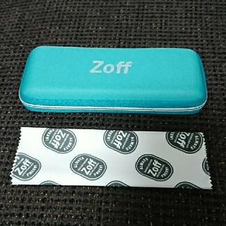 ゾフ(Zoff)のZoff メガネケース メガネクロス(サングラス/メガネ)