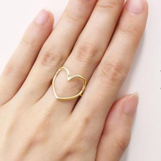 エナソルーナ(Enasoluna)のEnasoluna   エナソルーナ ハートのリング ゴールド(リング(指輪))
