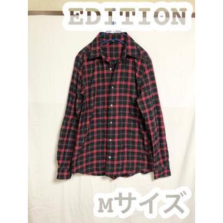 エディション(Edition)のチェックシャツ 薄手 ネルシャツ  カジュアル(シャツ)