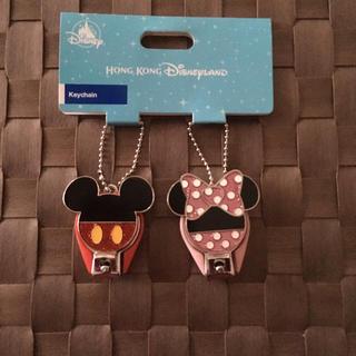 ディズニー(Disney)の香港ディズニー ミッキーミニー爪切り(爪切り)