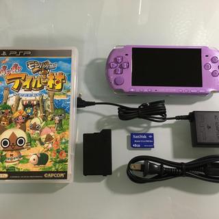 PlayStation Portable - PSP-3000 アイルー村パック