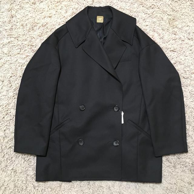 DEUXIEME CLASSE(ドゥーズィエムクラス)のMUSE ドゥーズィエムクラス オーバーサイズ コート F レディースのジャケット/アウター(ピーコート)の商品写真