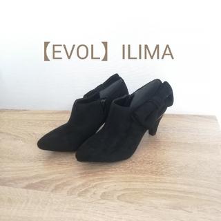 イーボル(EVOL)の新品 EVOL ILIMA サイドリボン ブーティー(ブーティ)