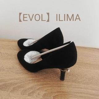 EVOL - 新品 EVOL ILIMA ヒールパール ラウンド パンプス