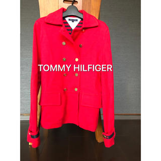TOMMY HILFIGER - 【ほぼ未使用】TOMMY HILFIGERジャケットコート