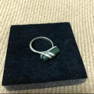 vintage ヴィンテージ リング アンティーク 指輪 グリーン(リング(指輪))