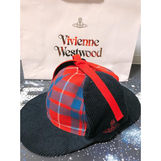 ヴィヴィアンウエストウッド(Vivienne Westwood)のVivenne Westwoodディアストーカーハット(キャップ)