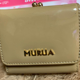 ムルーア(MURUA)のMURUA♡2つ折りエナメル財布(財布)