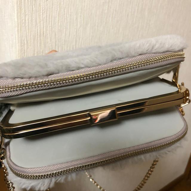 one*way(ワンウェイ)のファーショルダーバッグ レディースのバッグ(ショルダーバッグ)の商品写真