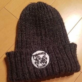 スラッシャー(THRASHER)の●thrasher●ニット帽●スケーター●ストリート●ニットキャップ●(ニット帽/ビーニー)
