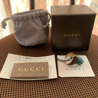 グッチ(Gucci)の新品未使用 GUCCI グッチ バードヘッド ミケーレ期 リング サイズ23号(リング(指輪))