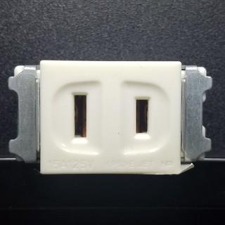 パナソニック(Panasonic)のパナソニック WN1001 フルカラー 埋込シングルコンセント ミルキーホワイト(その他)