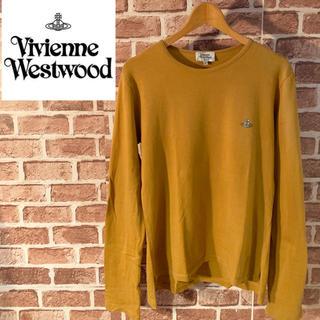 ヴィヴィアンウエストウッド(Vivienne Westwood)のヴィヴィアンウエストウッド/ワンポイント刺繍ロンT レアカラー(Tシャツ/カットソー(七分/長袖))