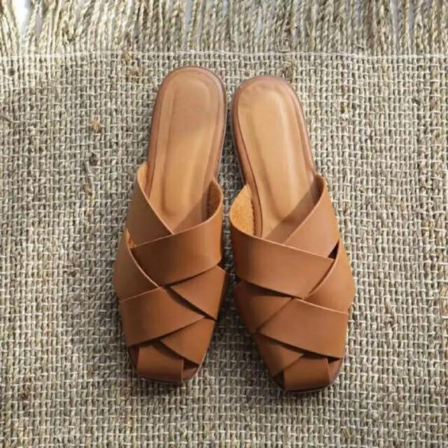 TODAYFUL(トゥデイフル)のtodayful レザーサンダル  レディースの靴/シューズ(サンダル)の商品写真