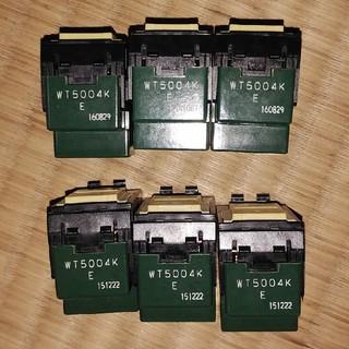 パナソニック(Panasonic)の6個まとめ パナソニック 埋込スイッチ4路 WT5004K(その他)