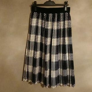 アーモワールカプリス(armoire caprice)のarmoire caprice プリーツスカート(ひざ丈スカート)