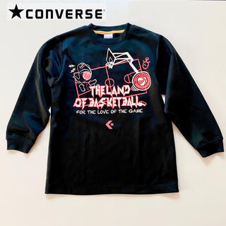 CONVERSE - コンバース Tシャツ 140 バスケ ミニバス バスケット ロンT ジュニア
