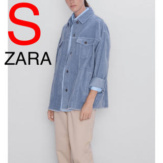 ZARA - ZARA コーデュロイジャケット コーデュロイ ジャケット 水色 空色 ブルー