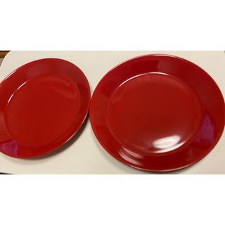 イッタラ(iittala)のイッタラ iittla / ティーマ TEEMA / 赤 Red /2枚(食器)