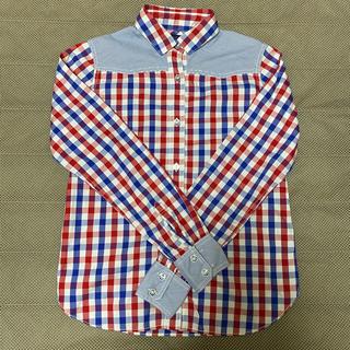 トミーヒルフィガー(TOMMY HILFIGER)の美品 トミーヒルフィガー チェックシャツ(シャツ/ブラウス(長袖/七分))