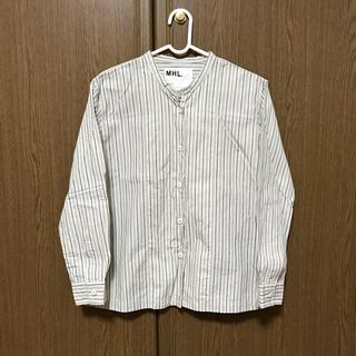 マーガレットハウエル(MARGARET HOWELL)のMHL ストライプシャツ(シャツ/ブラウス(長袖/七分))