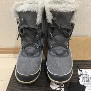 SOREL - ソレル ブーツ スノーブーツ ほぼ 未使用 新品 レディース ノースフェイス
