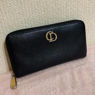 クリスチャンディオール(Christian Dior)のChristian Dior ディオール✨ラウンドファスナー 長財布(財布)