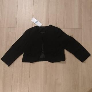 ジーユー(GU)の★お値下げ★ノーカラージャケット GU サイズ110 新品(ドレス/フォーマル)
