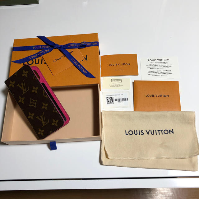 LOUIS VUITTON - iPhone X携帯ケースの通販