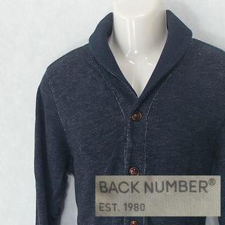 バックナンバー(BACK NUMBER)の【BACK NUMBER】 美品 バックナンバー ブルーブルゾン サイズL(ブルゾン)