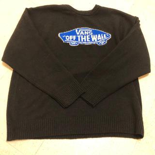 ヴァンズ(VANS)のVANS セーター  CREW KNIT BLACK(黒) (バンズ、ヴァンズ)(ニット/セーター)