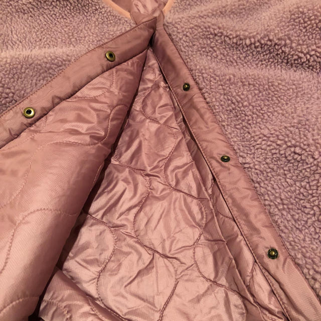w closet(ダブルクローゼット)のwcloset(^^)ピンク色のモコモコジャンパー。リバーシブル レディースのジャケット/アウター(ブルゾン)の商品写真