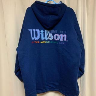 ウィルソン(wilson)の☆激レア☆ 古着 Wilson ウィルソン(パーカー)